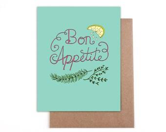 Bon Appetite - Blank card