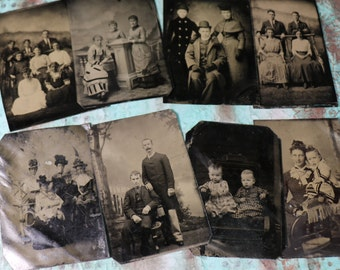 1 Antique Tintype Photo