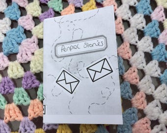 Penpal Stories mini zine