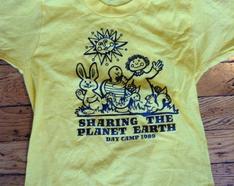 1988-89 Day Camp t shirts USA kids 10-12 two shirts