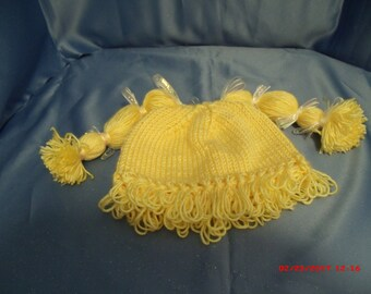 Cabbage Patch Type Hat