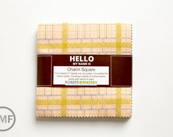 Friedlander Charm Squares, Carolyn Friedlander, Robert Kaufman, 100% Cotton Fabric Charm Pack, CHS-571-42