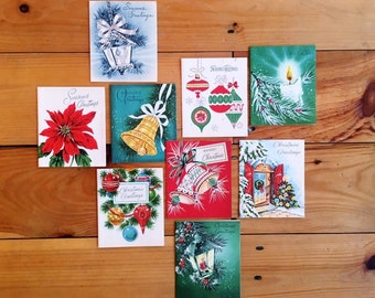 Mid-Century Christmas Cards - Unused