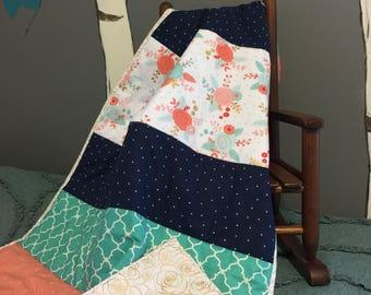 Baby crib quilt