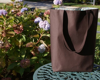 Large Washable Tote Bag - Whole World Bag with organic option