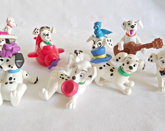 101 Dalmation McDonalds Toys 8 Happy Meal Give Away Lot A