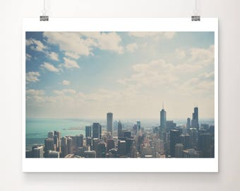 Chicago photograph travel photography architecture photograph Chicago print Lake Michigan photo Midwest photograph city photograph
