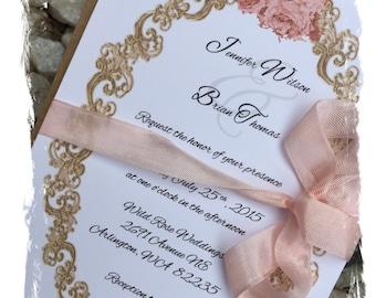 Quinceanera Invitation card set