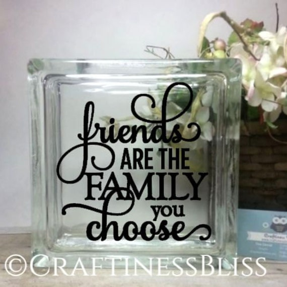 Family We Choose Quotes: Friends Are The Family You Choose Inspirational Quote