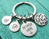 gift for him, long distance gift keychain, boyfriend gift, love gift husband, no matter where keychain gift for him love you to the moon