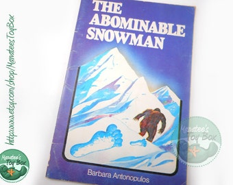 Vintage Book on The Abominable Snowman: 1977 Paperback by Barbara Antonopulos