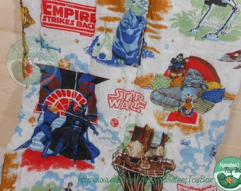 Vintage Star Wars Sleeping Bag 1980s Empire Strikes Back Return of the Jedi
