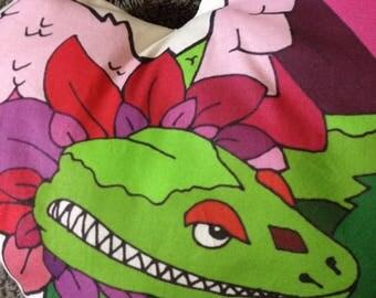 Flora the dragon pillow Know Your Dragons dragon pixel low poly dragon original art pillow pal