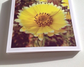 Square Greeting Card - Yellow Sunshine