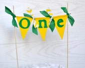 John Deere Cake topper - john deere party - boy birthday - cake topper - cake bunting - boy birthday banner - boy cake topper - boy banner