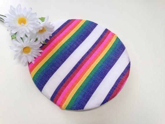 Tortilla Warmer, Tortilla Keeper Rainbow, Taco Fiesta Party Mexican Food Decor, Aztec Bridal Shower Wedding Favors