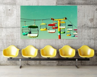 oversized art / large art / huge custom art - Summer of 67, 40x60 photograph giclee on canvas art