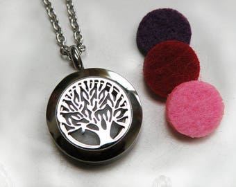 aromatherapy diffuster pendant tree of life