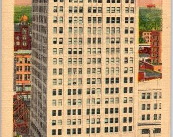 Kansas City, Missouri, Professional Building, 11th Grand - Vintage Postcard - Postcard - Unused (X)