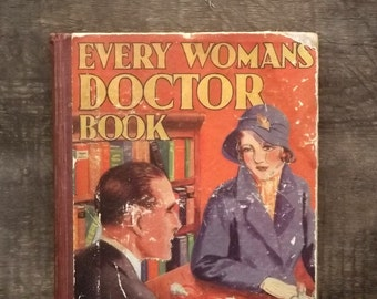 Vintage 1930s  Woman's Doctor Book