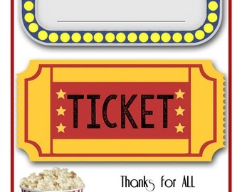 Printable GIFT CARD Holder - for Teacher - Great for Movie gift cards or Redbox codes