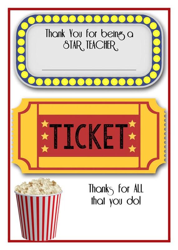 movie gift certificates