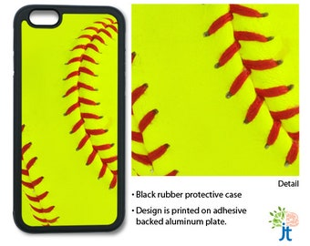 Girls Softball Phone Case for iPhone 5/5s, iPhone 6, iPhone 7 - 2 styles