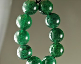 BARGAIN plus LAST Strand SALE - originally 6.39 - Quality African Green Aventurine Round Beads - 8mm - 10 Beads - B6352