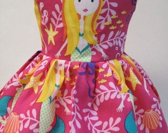 Mermaid Sisters, Sleeveless Dress for your 18 Inch Doll C