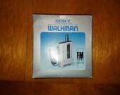 Vintage Sony WalkMan WM-F1 Radio Cassette