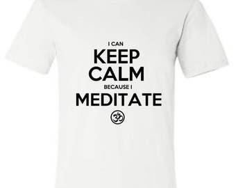 Funny yoga shirt, yoga tee, yoga top, funny shirt, keep calm, shirt, graphic tee, yoga tank