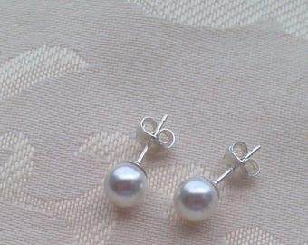 Swarovski Pearl Post Earrings