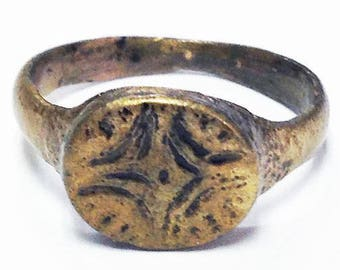 Ancient Roman Ring  Ring C.600-900A.D. Size 5 1/2.