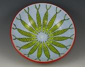 Ceramic Bowl Handmade Pottery – Fish Daisy