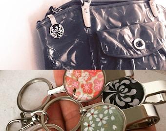 PURSE KEY FINDER Japanese washi handmade paper key chain key hook with gift envelope