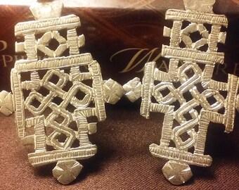 Matching Ethiopian Coptic Crosses