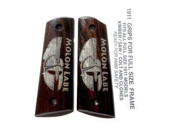 """African Blackwood / 1911 Full Size  """"Come and take it"""""""