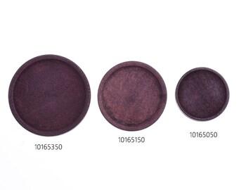 20pcs wood Round Pendant Blanks,bracelet Base trays, fit 20mm 25mm 30mm round cabochons,Retro color,101650