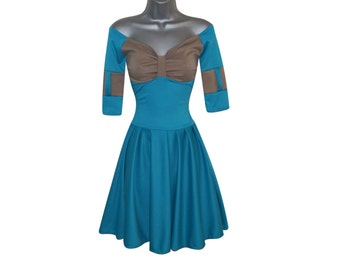 Adult Princess Merida Brave Fancy Dress CosPlay Costume (UK 8) (US 4) (EUR 36) Ladies Womens