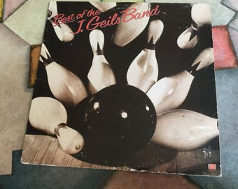 The J Geils Band Best Of on Atlantic Records 1979 RIP