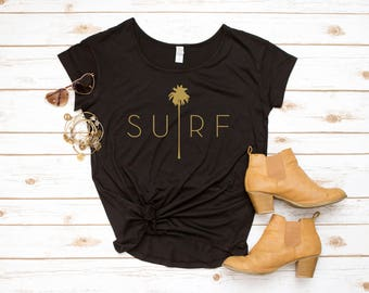 Surf Palm Shirt, Surf Shirt