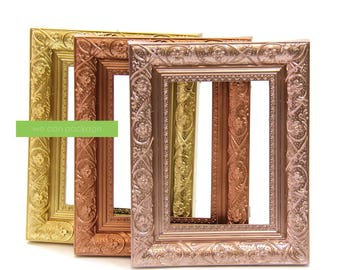 "Vintage Baroque Photo Frames | 5"" x 7"" 