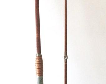 Vintage Bamboo Fishing Rod, Two-Piece Split Bamboo Fishing Rod