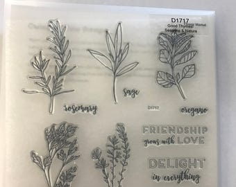 CTMH, Close to My Heart, stamp set Good Thymes! D1717