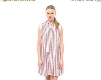 White dress, Sweatshirt Dress, Hoodie Dress, Oversized dress,knee length Dress, Loose dress, sleeveless