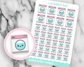 Kawaii Laundry | Planner Sticker Sheet