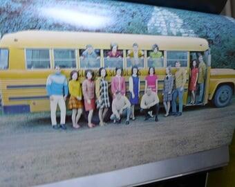 Vintage Yearbook Santa Fe Trail Texas Yearbook choice of 1969 or 1971 Hardbound High School Yearbook