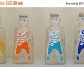 WINTER SALE Space Age Bottle 1950's - Spaceman/Robot Galaxy Syrup Bottle Bank