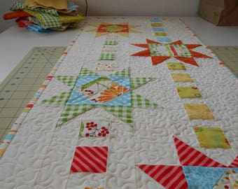 Quilted Table Runner Extra Long