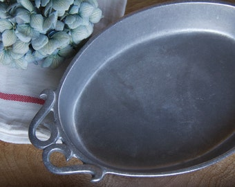 York Metalcrafters Pewter Plate Serving Dish